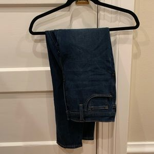 """Like new Madewell 9"""" skinny jeans with button fly"""